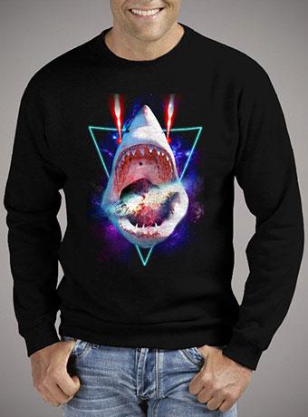 Мужской свитшот Cosmic Shark