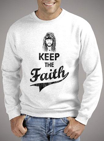 Мужской свитшот Keep The Faith