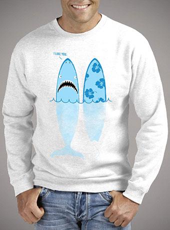 Мужской свитшот Shark Like