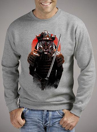 Мужской свитшот The Furious Samurai