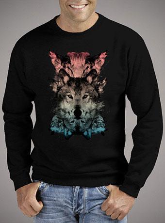 Мужской свитшот The Wolf