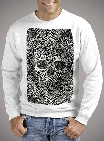 Мужской свитшот Lace Skull