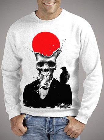 Мужской свитшот Splash Skull