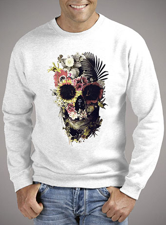 Мужской свитшот Garden Skull