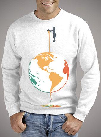 Мужской свитшот Fill Your World With Colors