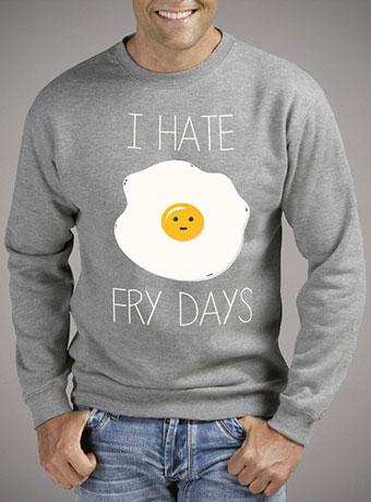 Мужской свитшот I Hate Fridays