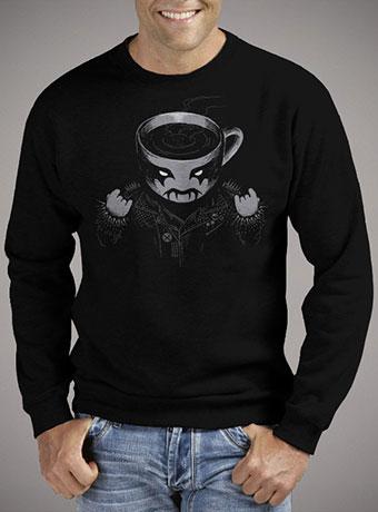 Мужской свитшот Black Metal Coffee