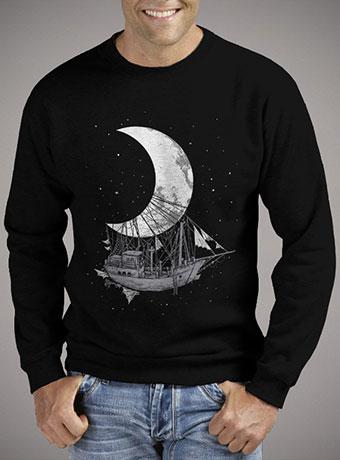 Мужской свитшот Moon Ship