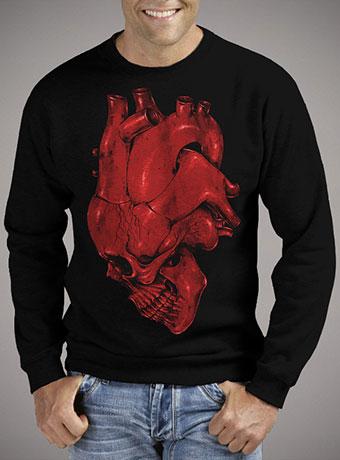 Мужской свитшот Skull of Heart