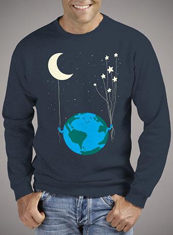 Мужской свитшот Under the Moon and Stars
