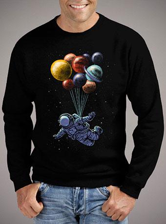 Мужской свитшот Space Travel