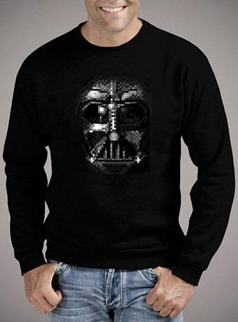 Мужской свитшот Darth Vader Pixel Face