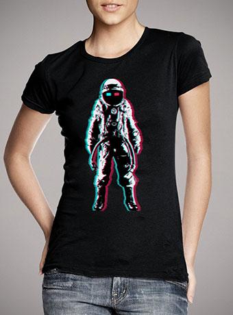 Женская футболка Astro In 3d