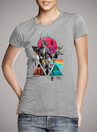 Женская футболка Biker