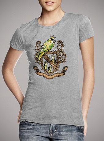 Женская футболка Birds Crest