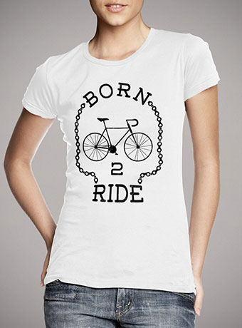 Женская футболка Born To Ride