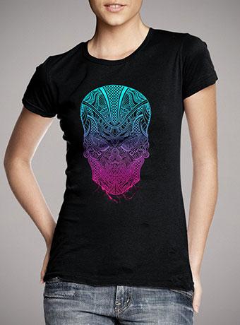 Женская футболка Cranium
