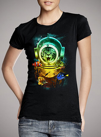 Женская футболка Crazy Kitty