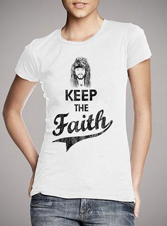 Женская футболка Keep The Faith