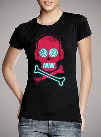 Женская футболка Neon Pirates