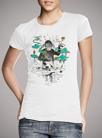 Женская футболка Portrait
