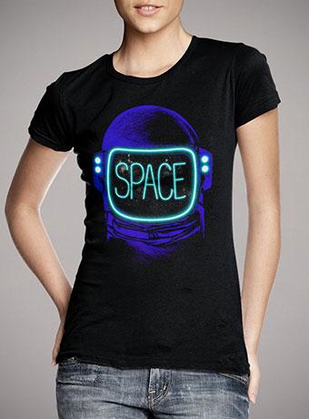 Женская футболка Space Neon