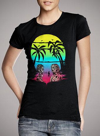 Женская футболка Summer After The Plague