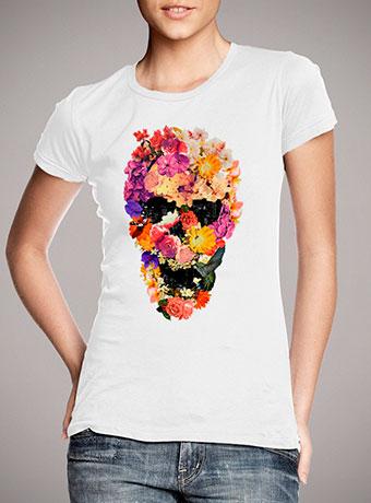 Женская футболка Botaniskull