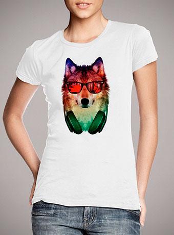 Женская футболка Hippie Wolf