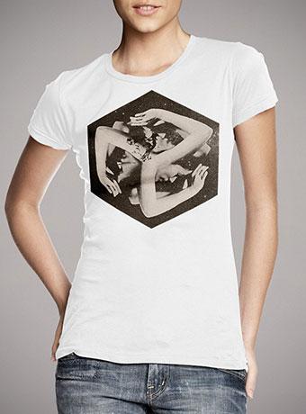 Женская футболка Box