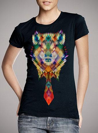 Женская футболка Corporate Wolf