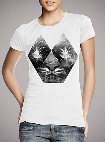 Женская футболка Cosmic Tiger