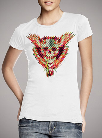 Женская футболка Geo Skull