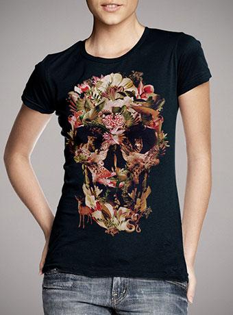 Женская футболка Jungle Skull