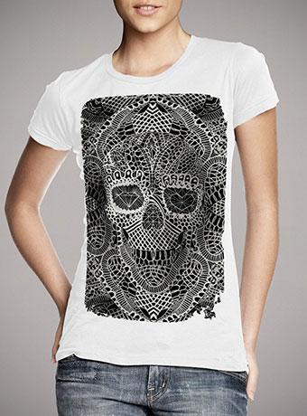 Женская футболка Lace Skull