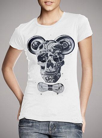 Женская футболка Mechanics
