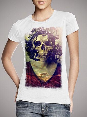 Женская футболка Miss Skull