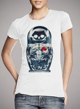 Женская футболка Nesting Doll X-Ray
