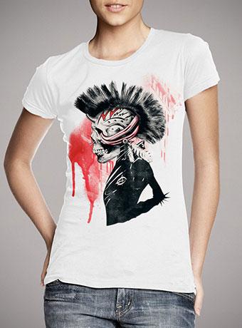 Женская футболка Punk