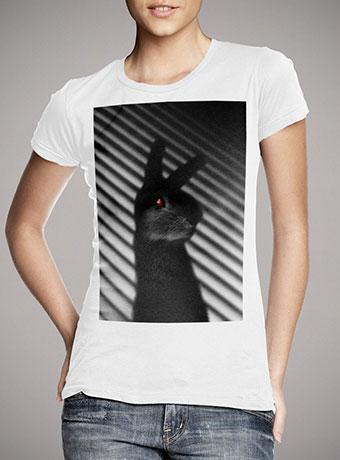 Женская футболка Shadow Bunny