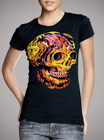 Женская футболка Skull V