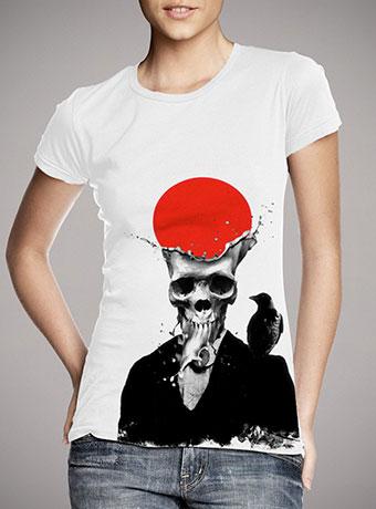 Женская футболка Splash Skull