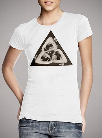 Женская футболка Triangle