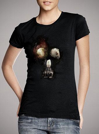 Женская футболка Cave Skull