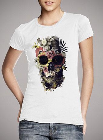 Женская футболка Garden Skull