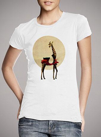 Женская футболка Giraffe