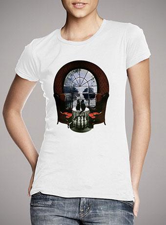 Женская футболка Room Skull