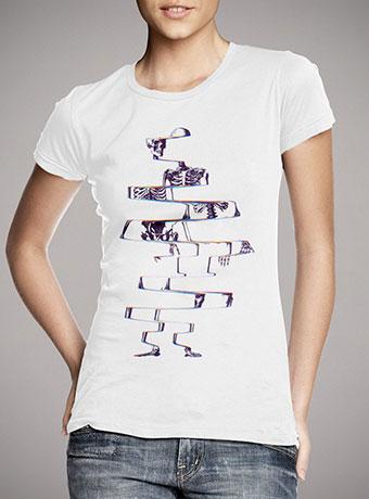 Женская футболка Skeleton