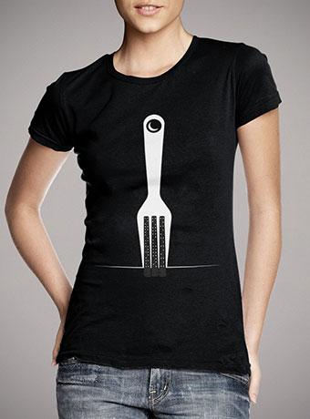 Женская футболка Fork City