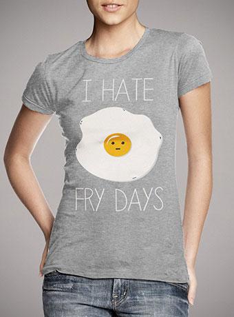 Женская футболка I Hate Fridays